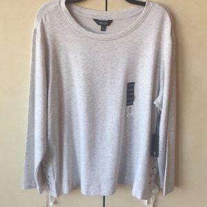 NWT Simply Vera Wang Sweatshirt